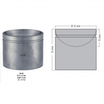 SS-65 BMT GD - Amalgam pot, o 35 mm
