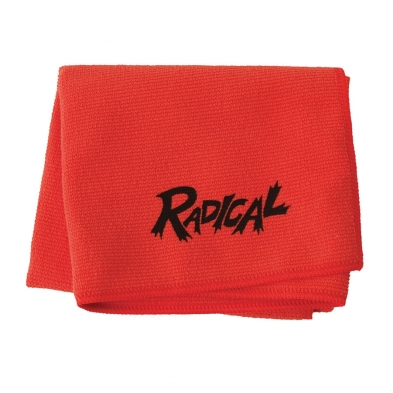 RAD-A56-R10207-000 MICROFIBER TOWEL RED