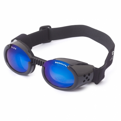 ILS 2 Black Frame with Mirror Blue Lens