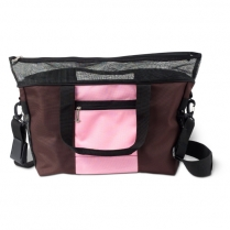 PCMDLG-02 Denier Messenger Bag Large Pink