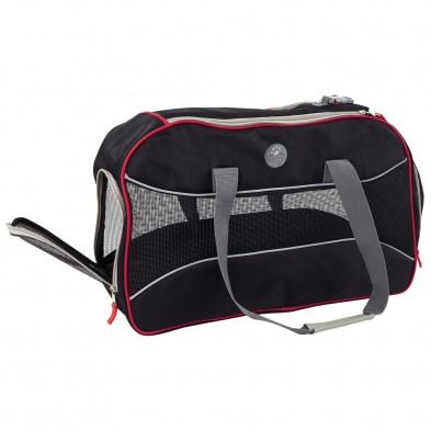 PCPKSM-01 Pet Carrier Luxury Mesh Black