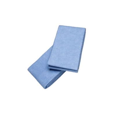 "TCWAB300 Blue Disposable Cleaning Cloth | 19"" x 18"" 