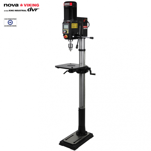 83705 16'' NOVA VIKING DVR FLOOR MODEL DRILL PRESS