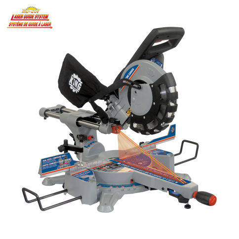 "8385N 10"" DUAL BEVEL SLIDING COMPOUND MITER SAW WITH TWIN LASER"