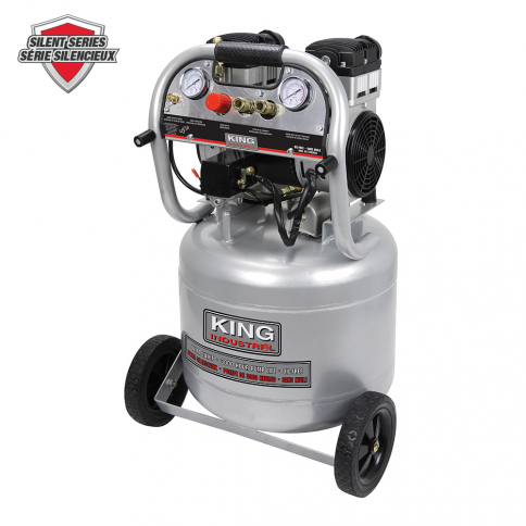 KC-10020SQ 10 GALLON ULTRA-QUIET OIL-FREE AIR COMPRESSOR