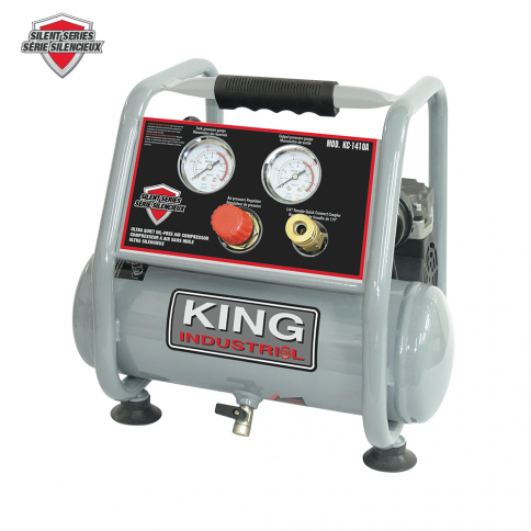 KC-1410A ULTRA QUIET OIL-FREE AIR COMPRESSOR