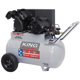 KC-2051H1 5.5 PEAK HP 20 GALLON AIR COMPRESSOR
