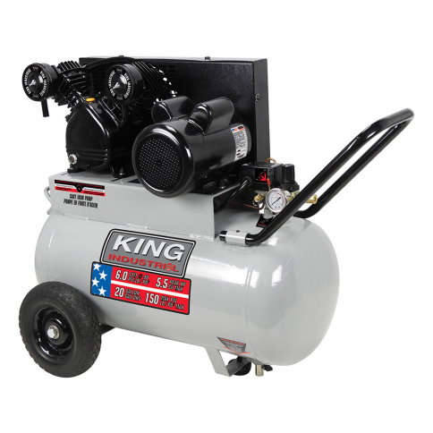 KC-2051H2 5.5 PEAK HP 20 GALLON AIR COMPRESSOR