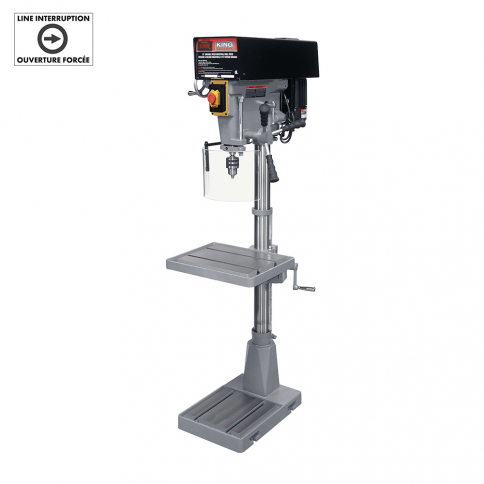 KC-30HS-VS 15'' VARIABLE SPEED INDUSTRIAL DRILL PRESS