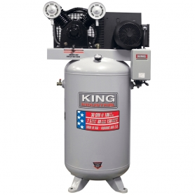 KC-7180V1-MS HIGH OUTPUT 7.5 PEAK HP 80 GALLON AIR COMPRESSOR