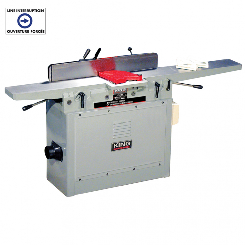 "KC-80FX 8"" INDUSTRIAL JOINTER"