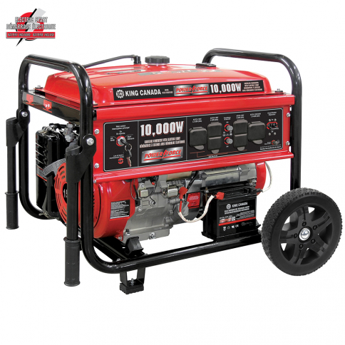 KCG-10001GE 10,000W GASOLINE GENERATOR WITH ELECTRIC START