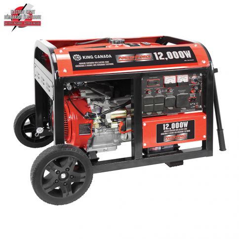 KCG-12000GE 12000W GASOLINE GENERATOR WITH ELECTRIC START