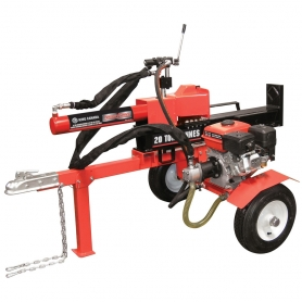 KCG-20LS 20 TON HORIZONTAL/VERTICAL 6.5 HP GAS LOG SPLITTER