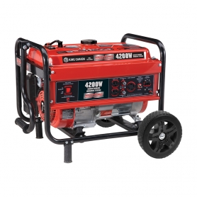KCG-4200G 4200W GASOLINE GENERATOR WITH WHEEL KIT