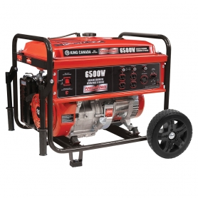 KCG-6501G 6500W GASOLINE GENERATOR WITH WHEEL KIT