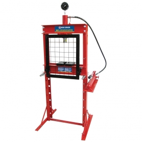 KHP-20T-GG 20 TON HYDRAULIC SHOP PRESS WITH GRID GUARD