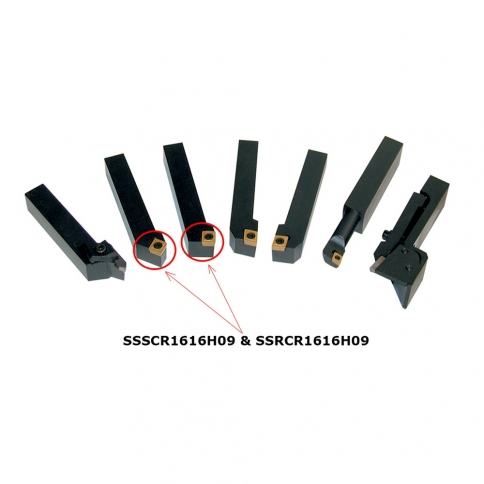 KM-063 2 PC. CARBIDE CUTTER TIP SET