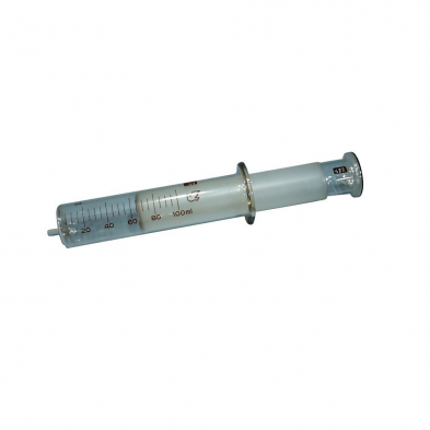 021903-0100 Syringes Gas, 100ml