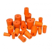 Rubber Stopper - 1 Hole - 10PK