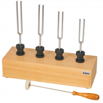 082006-0009 Tuning Forks + Box, with Resonance Box