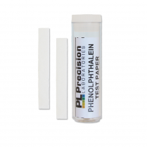 120916-0012 Phenolphthalein Test strips Pack 100
