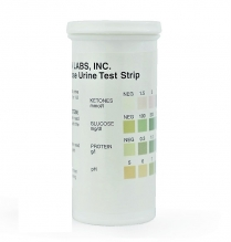 120916-0019 Urine Multi-purpose test strips (Detects Glucose, Protein, pH and Ketones)