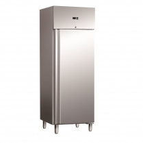 663-434 650L Upright Storage Freezer - Stainless Steel
