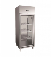 Stainless Steel Upright Display Fridges