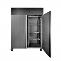 663-451 1410L Upright Storage Freezer - Stainless Steel