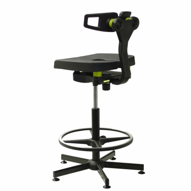 Westlab Ergoflex Lab Stool with Lumber Support