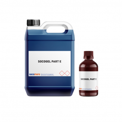 P14003-5L-P-1 SOCOGEL B0202 BLUE 5000ML