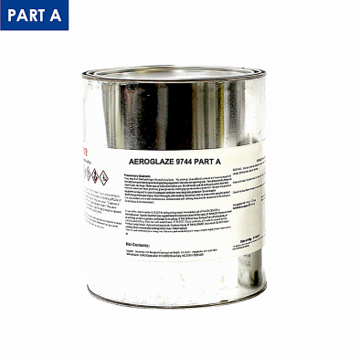 Z/3001391 AEROGLAZE 9744A LINED GALLON