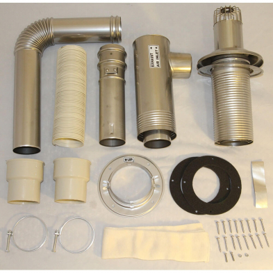 20476440 Flue Pipe Direct Vent Installation Kit