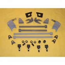 AR-24328 1932 Ford Rear Tri 4-Bar Kit - Plain Steel