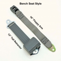 Retractable Lap Belts with Soft Arm