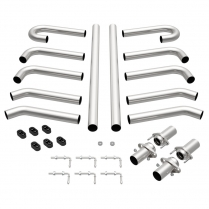 "MAG10702 Stainless Steel Hot Rod Exhaust Kit - 2-1/2"" Diameter"