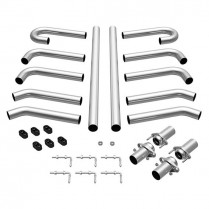 "MAG10703 Stainless Steel Hot Rod Exhaust Kit - 3"" Diameter"