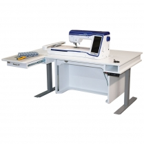 Model 9000 adjustable height sewing table