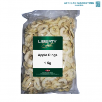1035-0015 APPLE RINGS DRIED 1kg *LIBERTY