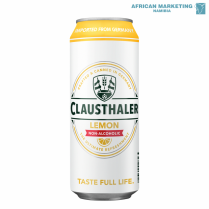 2210-0009 BEER LEMON CAN 4x6x500ml *CLAUSTHALER