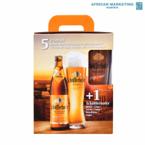 2210-0021 WEIZENBIER 5x500ml & GLASS *SCHOFFERHOFER