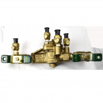 """1"""" LEAD FREE REDUCER PRESSURE ZONE ASSEMBLY, 1/4 TURN VALVES"""