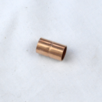 """3/8"""" WROT COPPER COUPLING WITH STOP- EVERFLOW"""