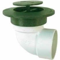 """4"""" 90 ELBOW WITH POP-UP DRAIN EMITTER"""