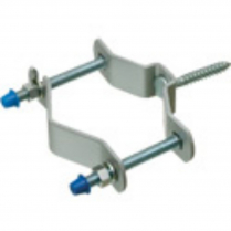 """UNIVERSAL PIPE SUPPORT WITH 2-1/4"""" LAG BOLT, FITS MAST SIZE 1-1/4"""" TO 3"""""""