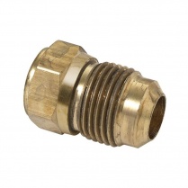 """3/8"""" OD FLARE X 3/8"""" FIP  BRASS CONNECTOR"""