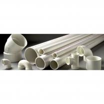 """1-1/2"""" X 10' SCHEDULE 40  PLAIN END PVC PIPE"""