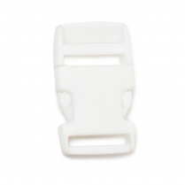 1 In.Side Release Buckle White