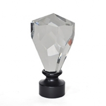Pentagon Crystal Fin 35mm Blk